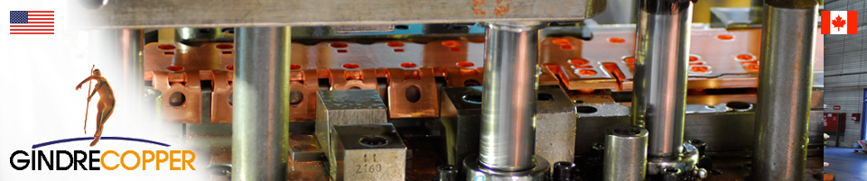 Copper components made to specification | Gindre Copper