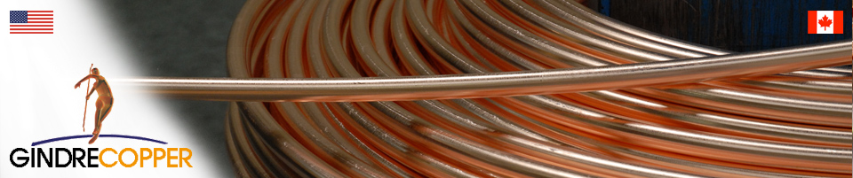 Round copper wires | Gindre Copper