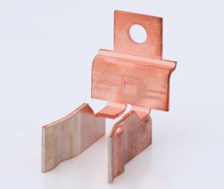 PUNCHING, BENDING/FOLDING, CUTTING copper component